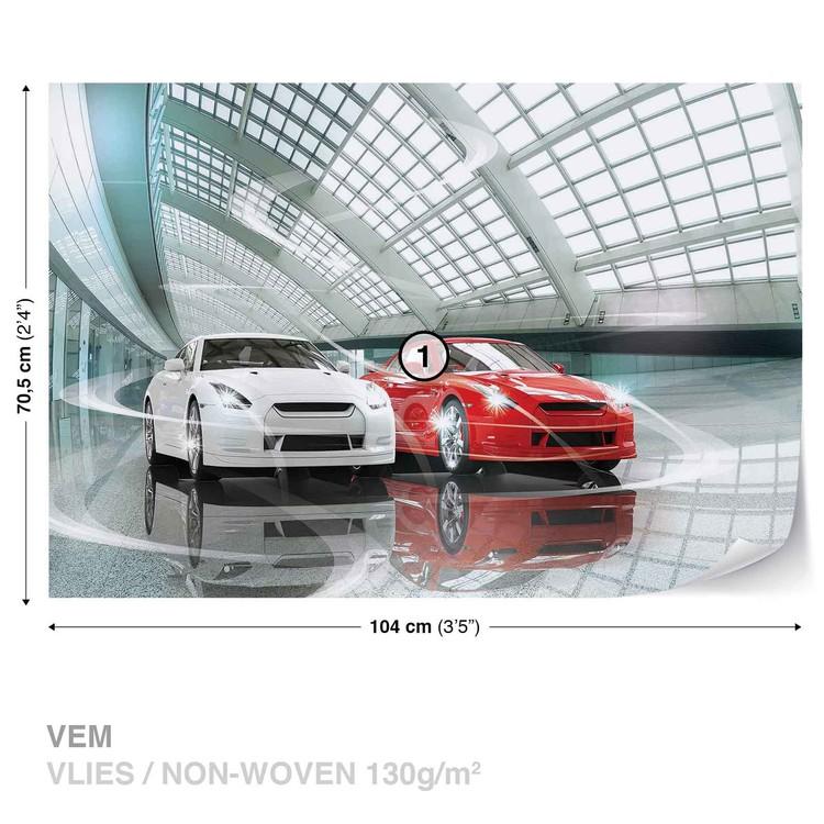 Cars Transport Fotobehang