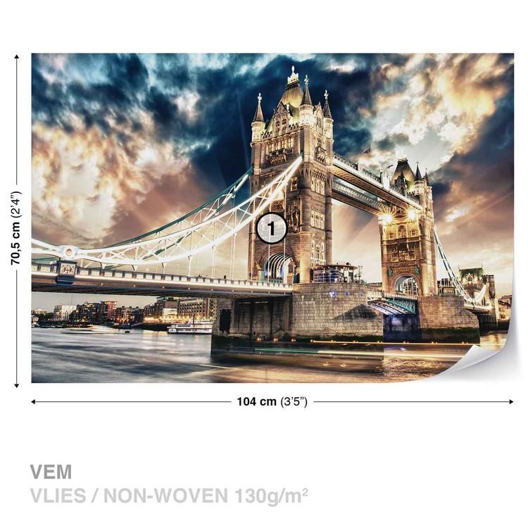 City London Tower Bridge Fotobehang
