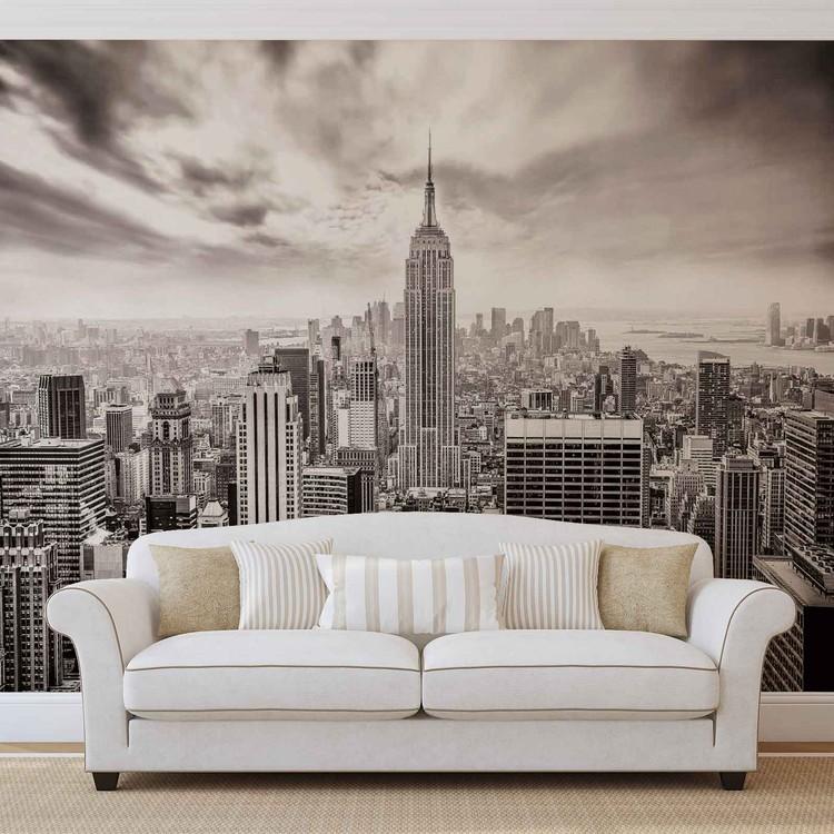 City Skyline Empire State New York Fotobehang