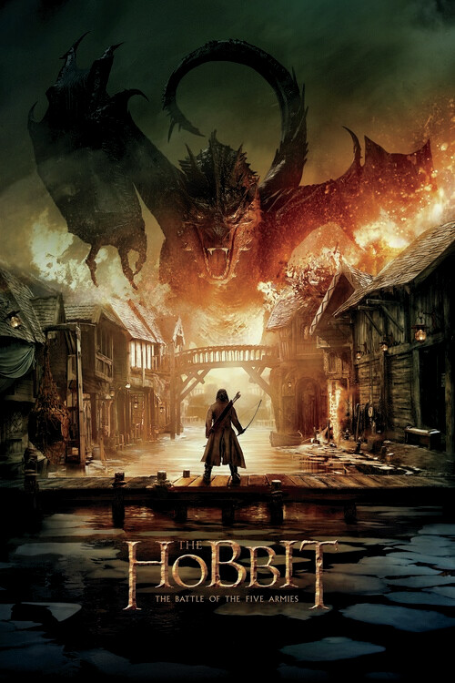 De Hobbit - Smaug Fotobehang
