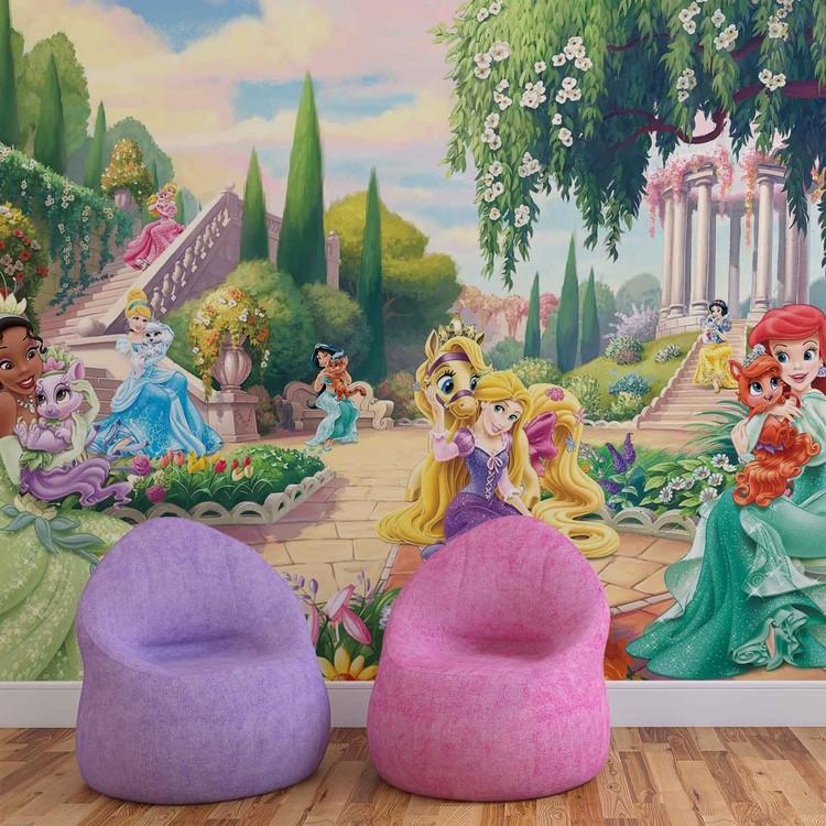 Disney Princesses Tiana Ariel Aurora Fotobehang