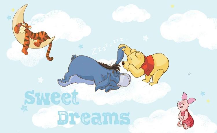 m2 vlies non woven i44749 - Winnie The Pooh Behang
