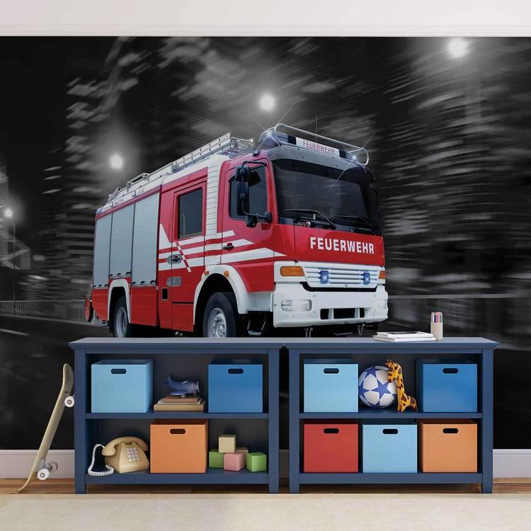 Fire Engine Fotobehang