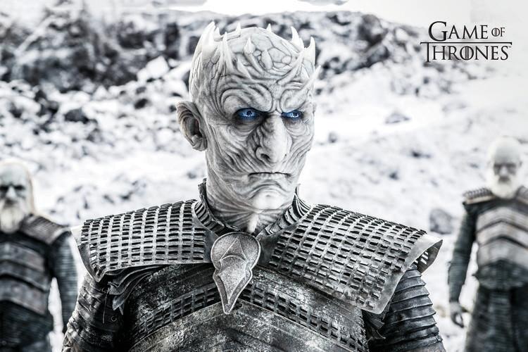Game of Thrones  - White Walker Fotobehang