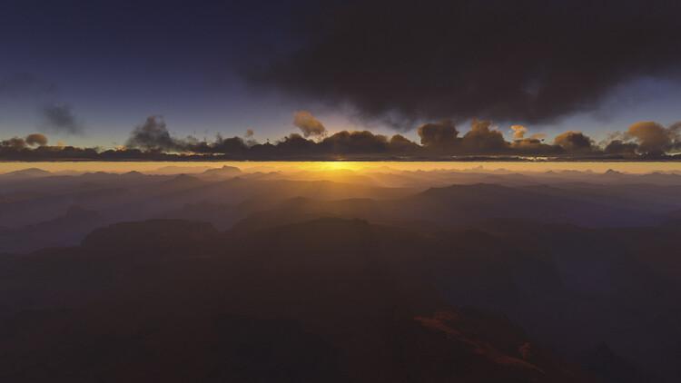 Hyper Real Landscapes series 3 Fotobehang