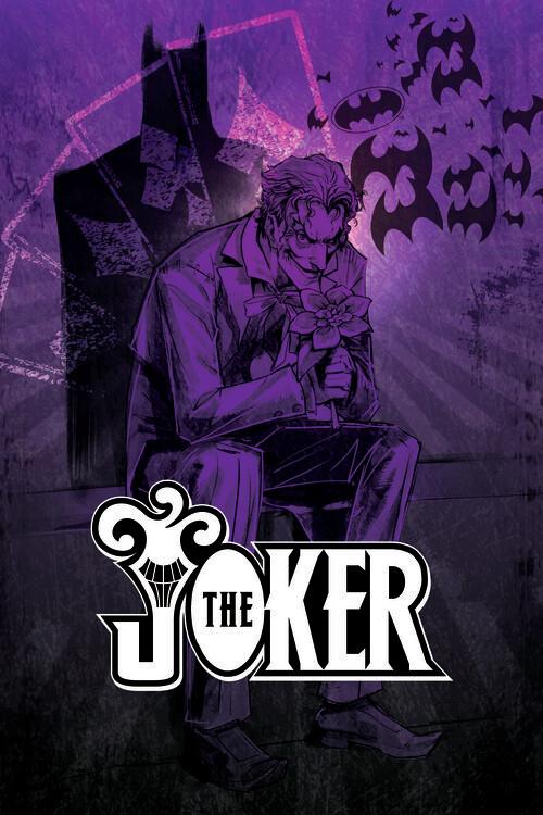 Joker - In the shadow Fotobehang