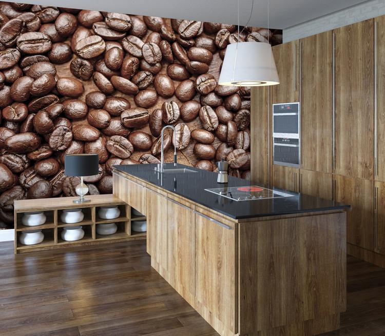Koffieboon Fotobehang