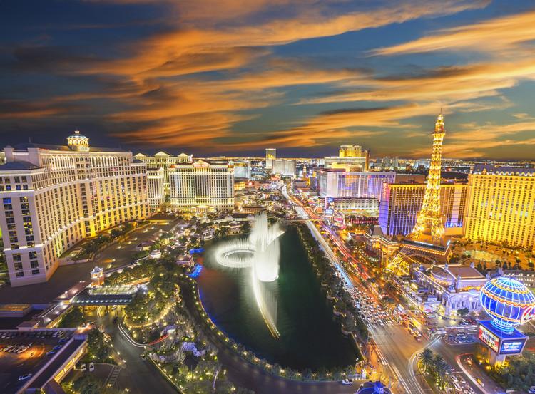 Las Vegas - Strip Fotobehang