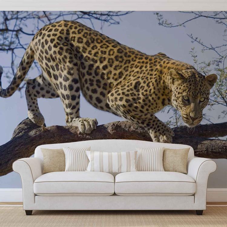 Leopard Tree Fotobehang