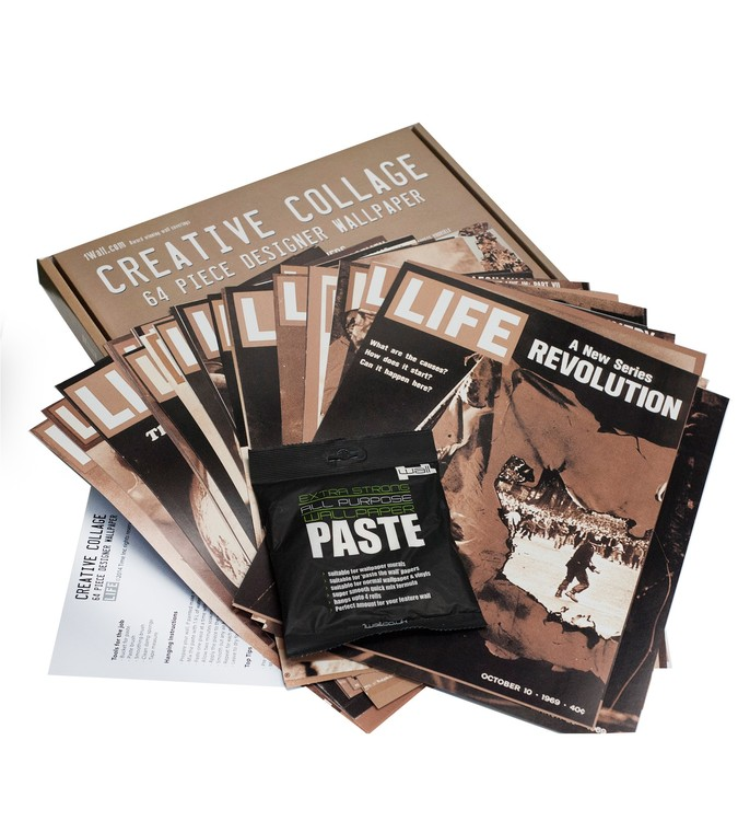Life - Front Covers Fotobehang