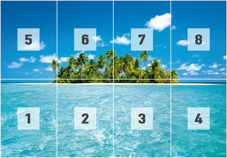 MALDIVE DREAM Fotobehang