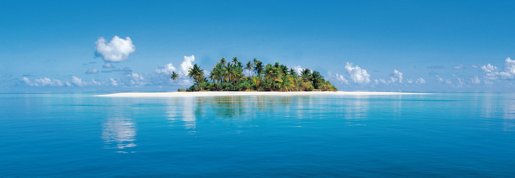 Fotobehang MALDIVE ISLAND