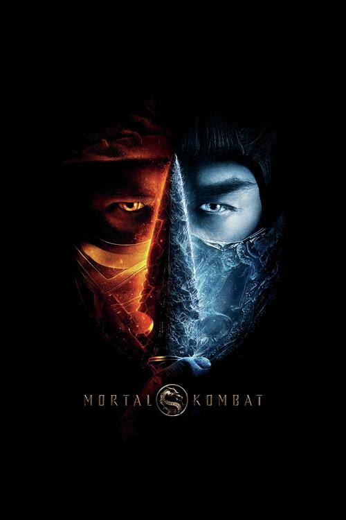 Mortal Kombat - Two faces Fotobehang