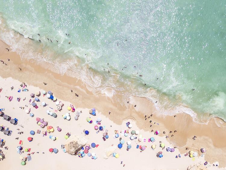 Pastel Beach Fotobehang