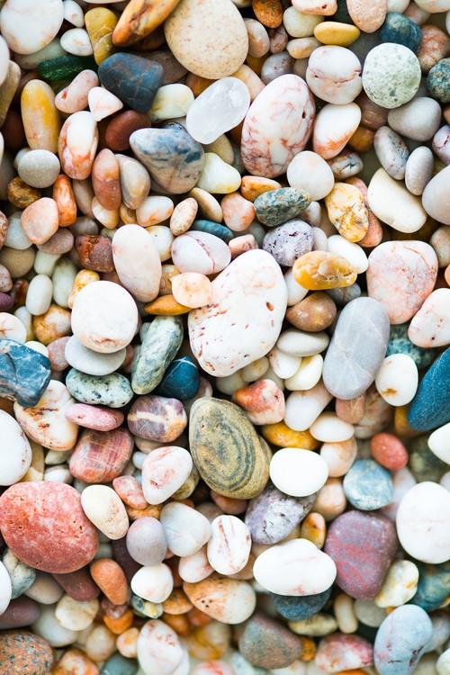 Random rocks Fotobehang