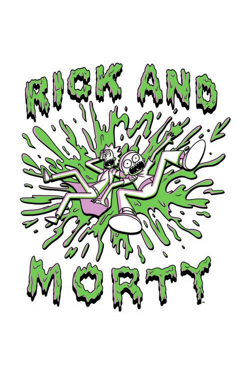 Rick and Morty - The Duo Fotobehang