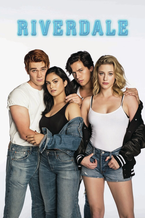 Riverdale - Archie, Jughead, Veronica and Betty Fotobehang