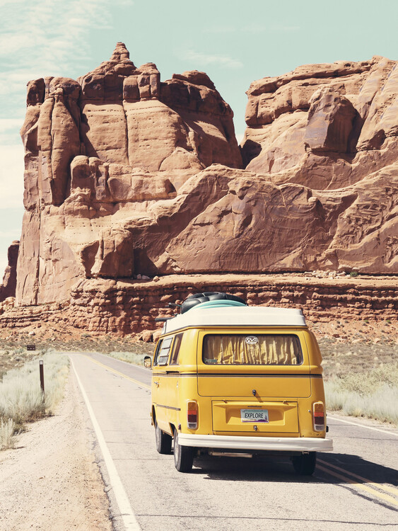 Road Trip Fotobehang