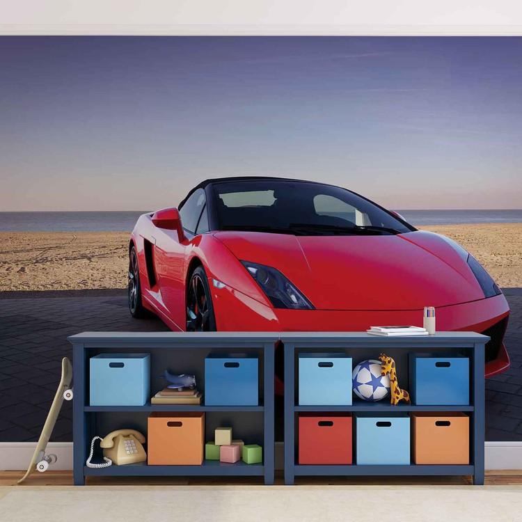 Sportscar Fotobehang