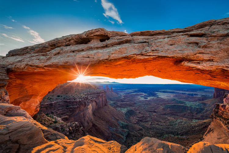 Sunrise at Mesa Arch Fotobehang