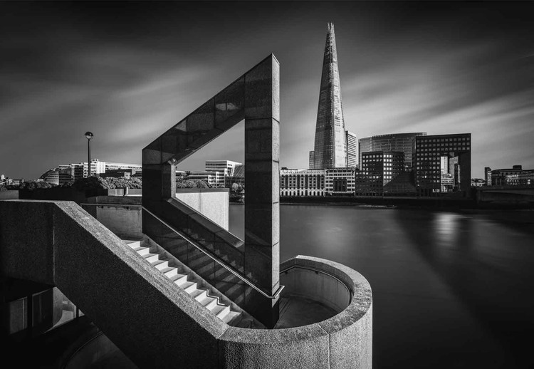 The Shard In Geometry Fotobehang