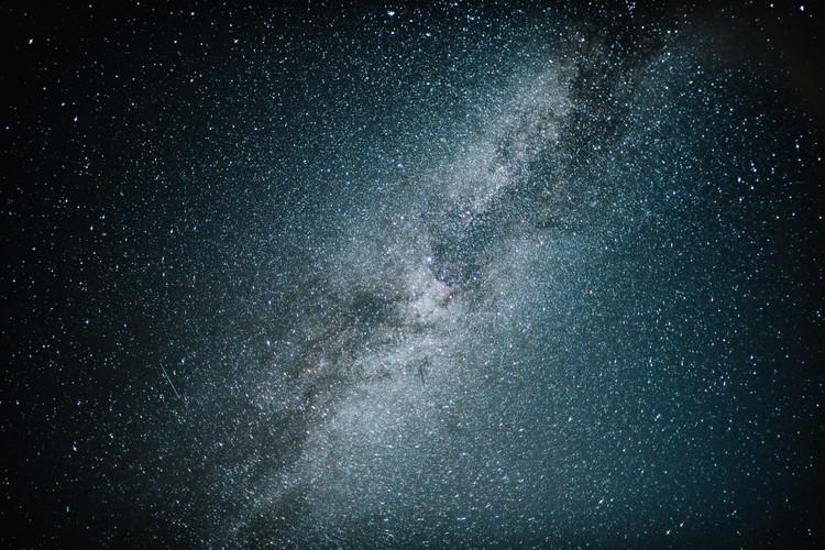 Fotografia artystyczna Astrophotography of blue Milky Way IV