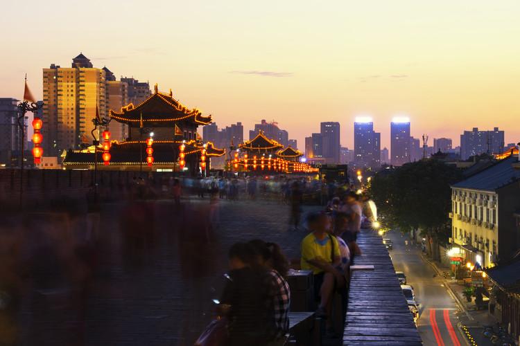 Fotografia artystyczna China 10MKm2 Collection - City Night Xi'an III