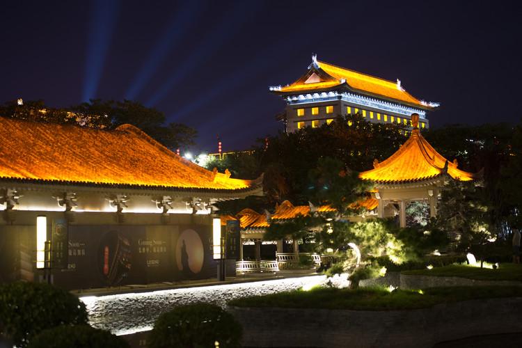 Fotografia artystyczna China 10MKm2 Collection - City Night Xi'an IV