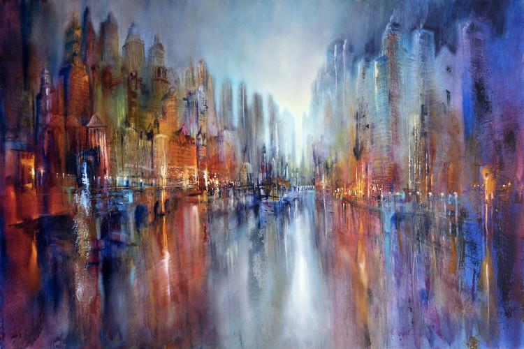 Fotografia artystyczna City at the riverside