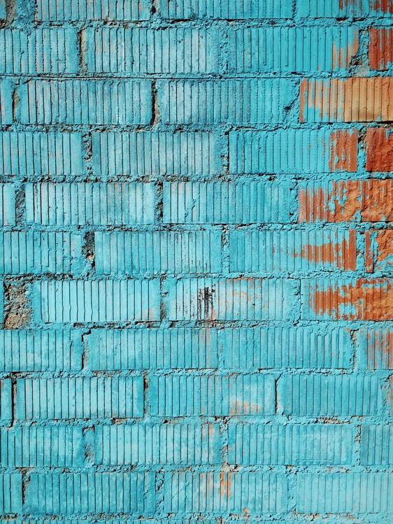 Fotografia d'arte Beatiful graded in the city