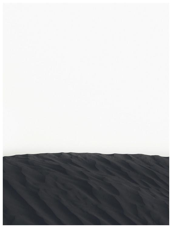 Fotografia d'arte border black sand