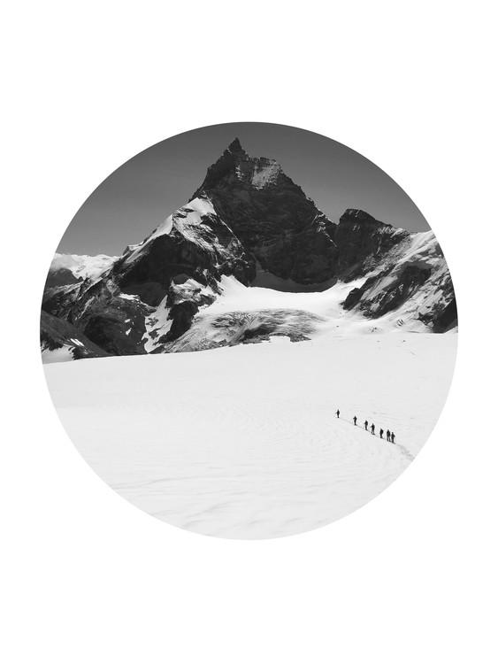 Fotografia d'arte border hikers