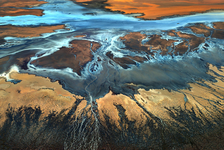 Fotografia d'arte California Aerial - The Desert From Above