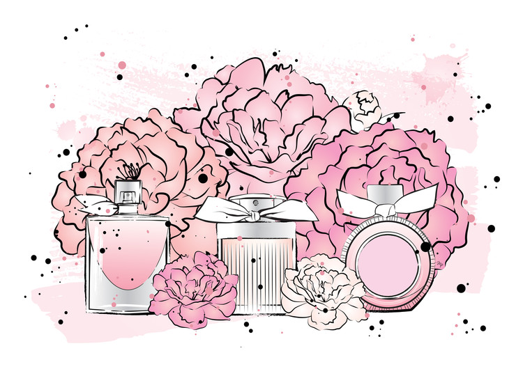 Fotografia d'arte Peony Perfumes2