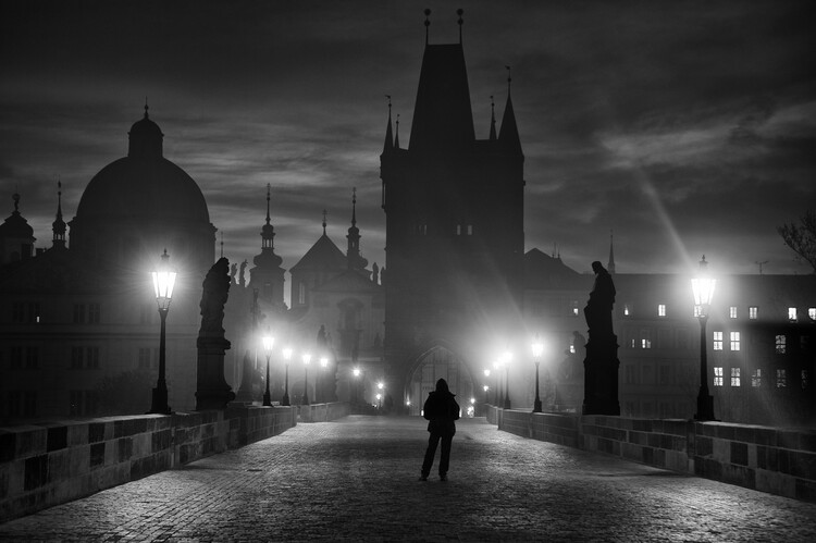 Fotografii artistice Prague in Black & White