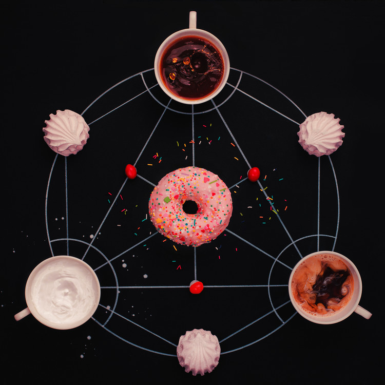 Fotografii artistice Sweet alchemy of cooking