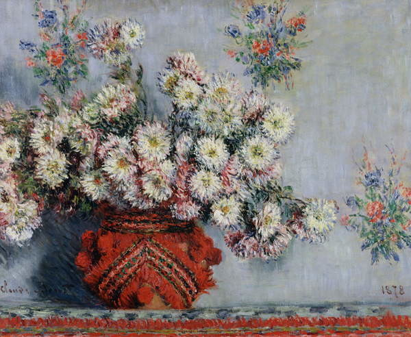 Chrysanthemums, 1878 Reproducere