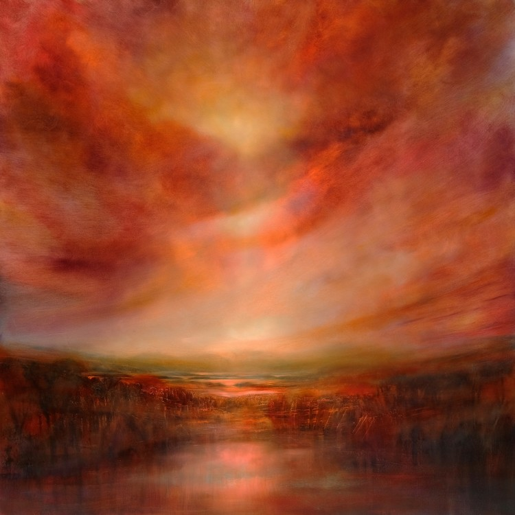 Evening glow Tablou Canvas