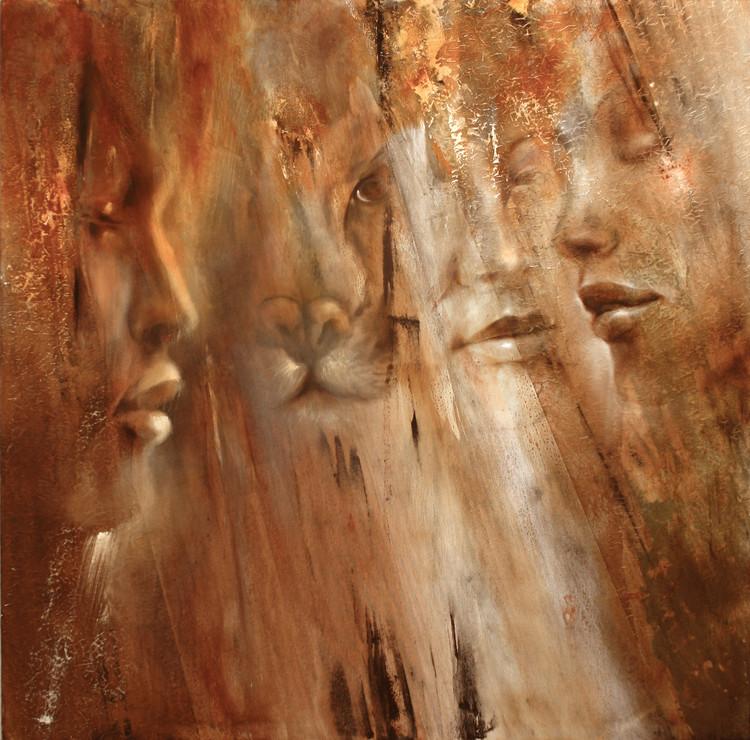 Faces Tablou Canvas