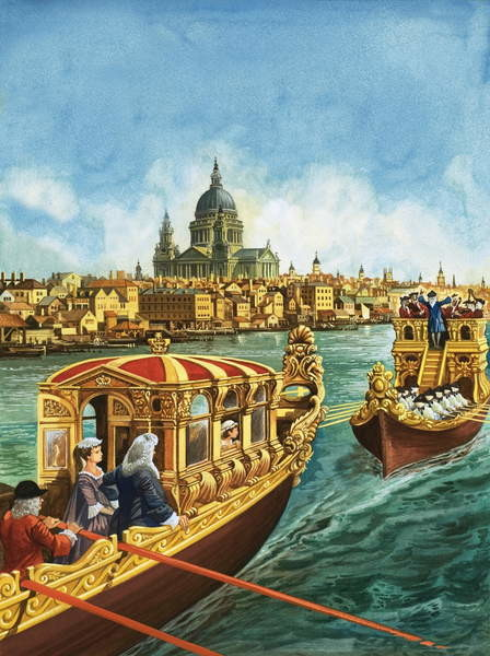 Sailing to Music Tablou Canvas