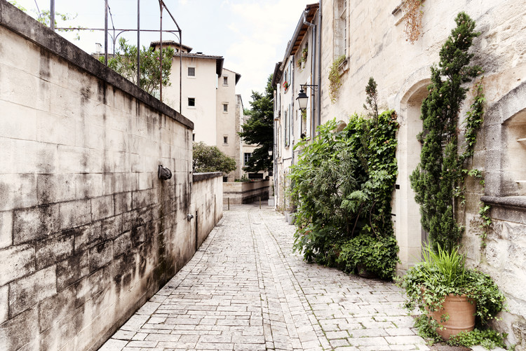 Fotografii artistice Street Scene in Uzès