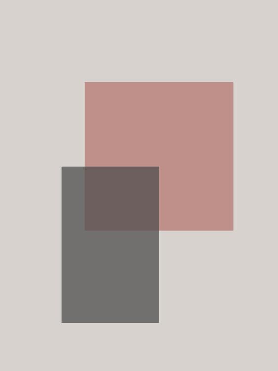 Ekskluzivna fotografska umetnost abstract squares