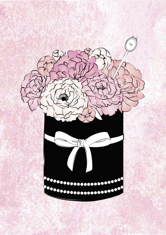 Ekskluzivna fotografska umetnost Flower Box