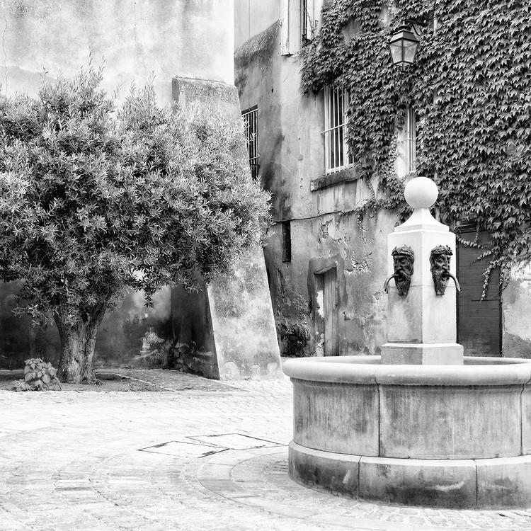 Ekskluzivna fotografska umetnost Provencal Place B&W