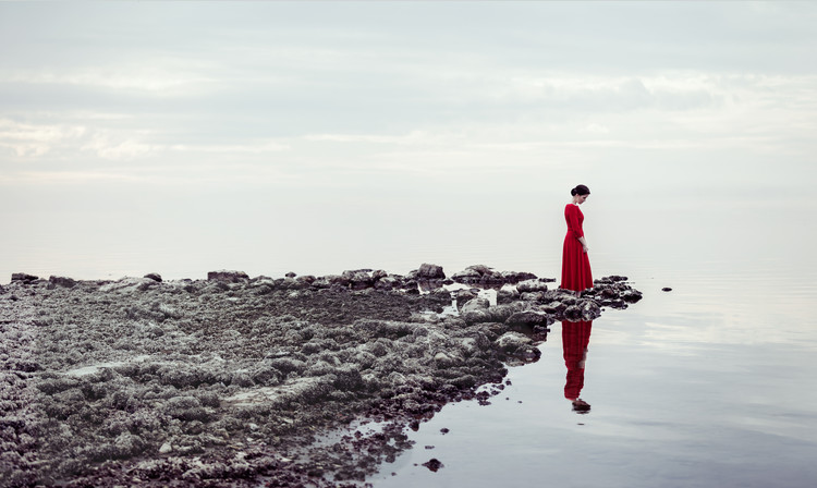 Ekskluzivna fotografska umetnost Red dress