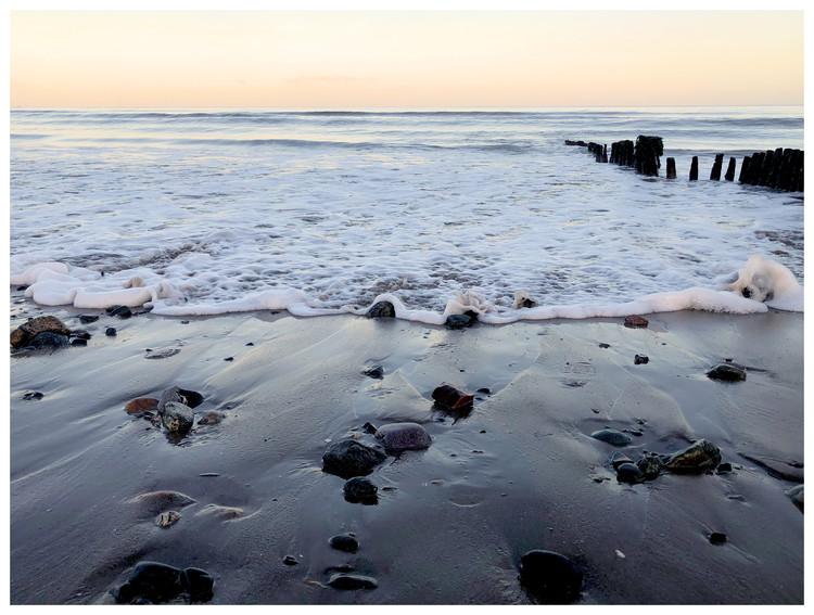Ekskluzivna fotografska umetnost rocks and water