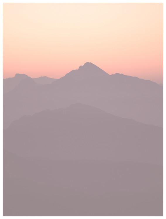 Ekskluzivna fotografska umetnost sunset gold