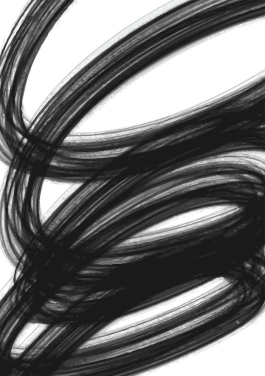 Ekskluzivna fotografska umetnost Swirl Three