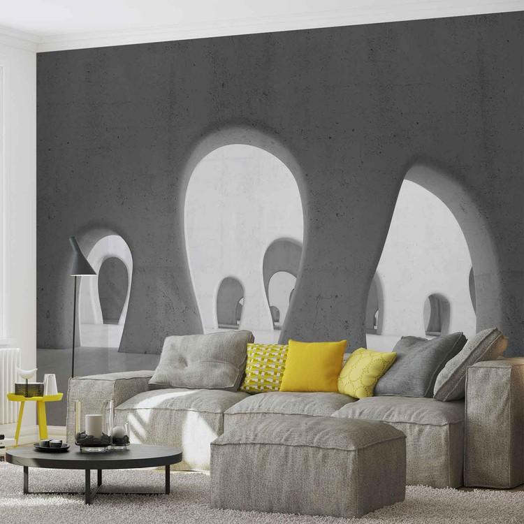 Fotomural Arquitectura moderna abstracta