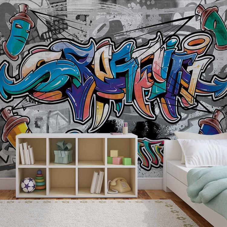 Fotomural Arte de la calle de la pintada